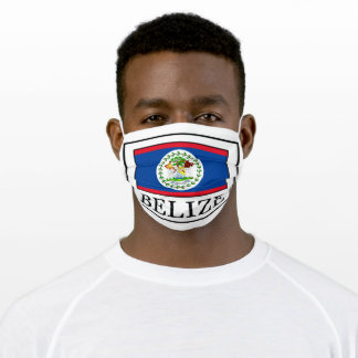 Belize Adult Cloth Face Mask