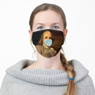 Ben Franklin Masked Adult Cloth Face Mask