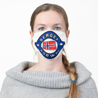 Bergen Norway Adult Cloth Face Mask