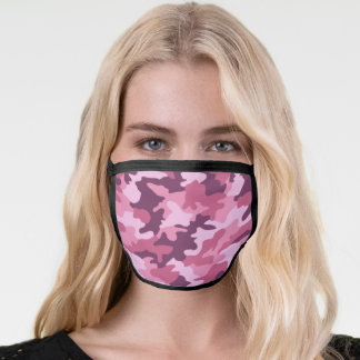 Berry Camouflage Face Mask