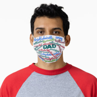Best Dad Ever Father's Day Gift Adult Cloth Face Mask