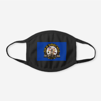 Beverly Hills, California Flag Cotton Face Mask