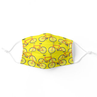 Bicycle Cycling Print Sports for Cyclist Adult Cloth Face Mask