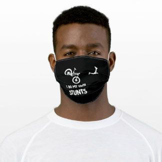 bicycle stunts adult cloth face mask