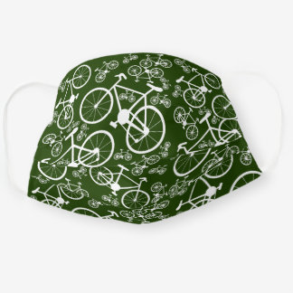 Bicycles Big and Small Cloth Face Mask