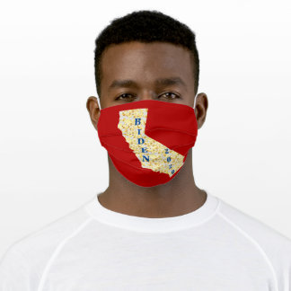 BIDEN 2020 CALIFORNIA CLOTH FACE MASK