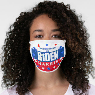 Biden Harris 2020 USA Stars And Stripes Election Face Mask