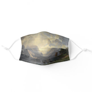 Bierstadt Sierra Nevada Landscape Adult Cloth Face Mask