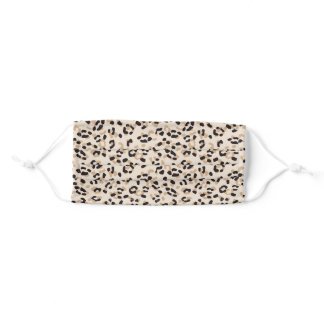 Big Cat Leopard Dots Adult Cloth Face Mask