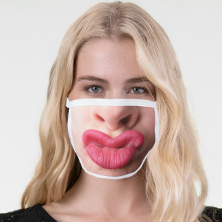 Big Funny Lips Face Mask
