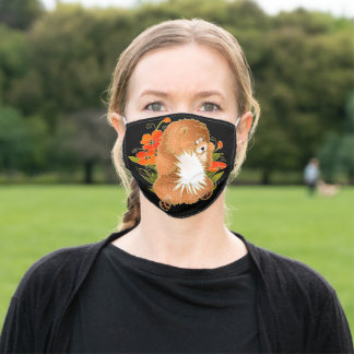 BINDI MINGSIE red chow face mask