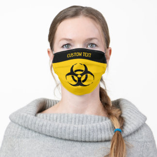 Biohazard Icon Adult Cloth Face Mask