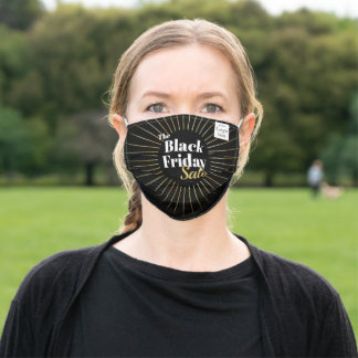 Black Friday Business Adult Cloth Face Mask