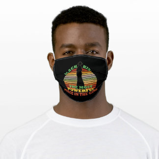 Black King Strongest Piece In The Game Adult Cloth Face Mask