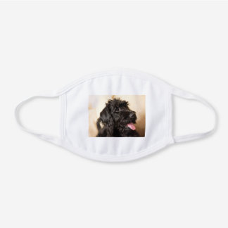 black labradoodle face mask