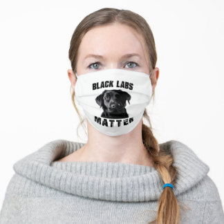 Black Labs Adult Cloth Face Mask