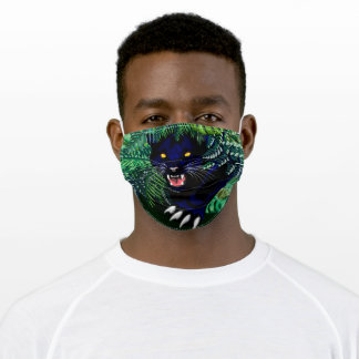 Black Panther Spirit of the Jungle Adult Cloth Face Mask