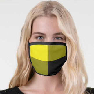 Black & Yellow - Chic Face Mask