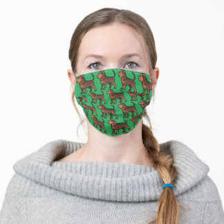 Bloodhound Adult Cloth Face Mask