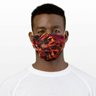 Bloody Halloween Teeth Adult Cloth Face Mask