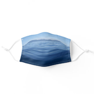 Blue Water Lake Tahoe Photo Adult Cloth Face Mask