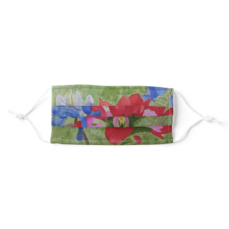 Bluebonnet and Indian Paintbrush no 3 Adult Cloth Face Mask