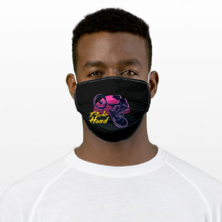 Bmx ride graphic adult cloth face mask