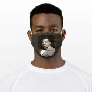 Booker T Washington Freedman & American Educator Adult Cloth Face Mask