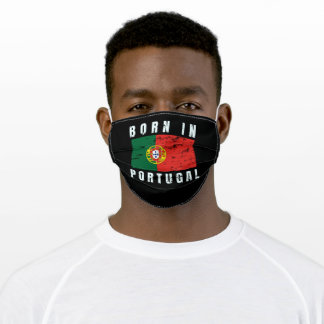 Born in Portugal Adult Cloth Face Mask
