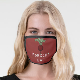 Borscht Bae face mask