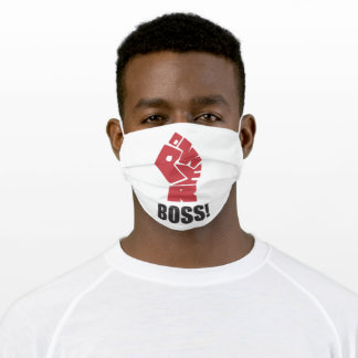 Boss Adult Cloth Face Mask