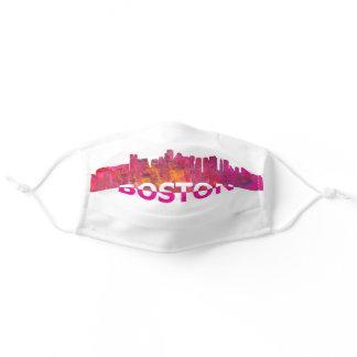 Boston Massachusetts Adult Cloth Face Mask