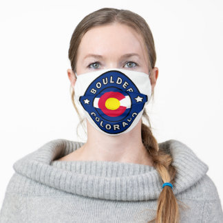 Boulder Colorado Adult Cloth Face Mask