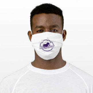 bowling adult cloth face mask