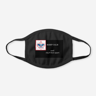 Boy Scouts of America black face mask