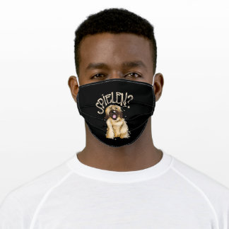 Briard Saying Sweet Gift For Dog Owners Adult Cloth Face Mask