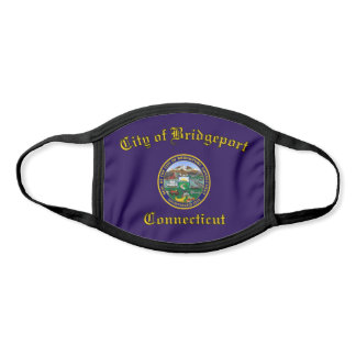 Bridgeport, Connecticut City Flag Face Mask