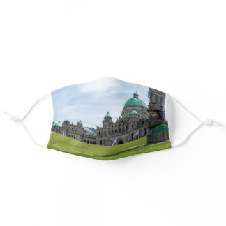 British Columbia Parliament - Victoria, Canada Adult Cloth Face Mask