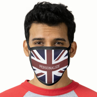 British Union Jack flag Face Mask