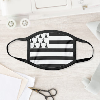 Brittany flag face mask