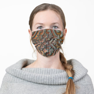 Bronze Gate Cloth Face Mask