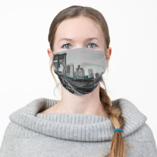 Brooklyn bridge adult cloth face mask