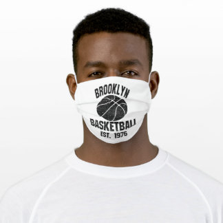 Brooklyn Nets Adult Cloth Face Mask