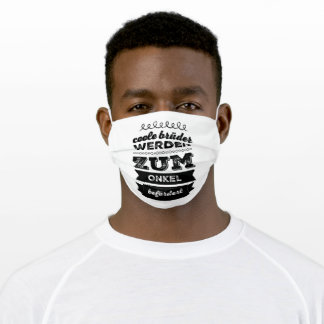 Brother Uncle Family Adult Cloth Face Mask