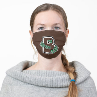 Brown University B Adult Cloth Face Mask