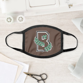 Brown University B Face Mask
