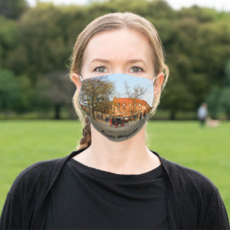 Bruges Photograph Adult Cloth Face Mask