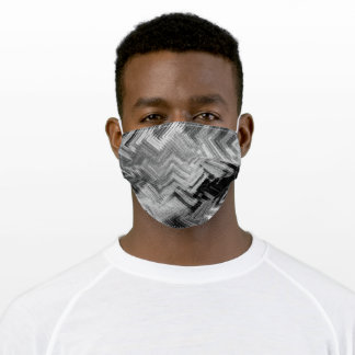 Brushed Steel Cloth Face Mask