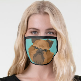 Brussels Griffon Facemask Face Mask