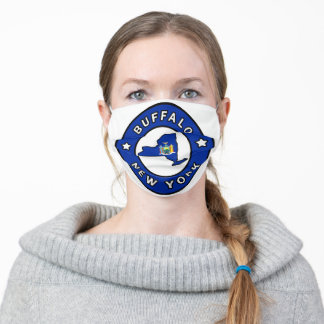 Buffalo New York Adult Cloth Face Mask
